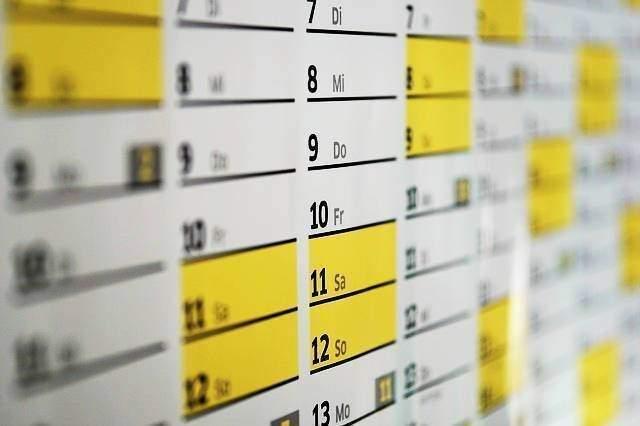 calendario indici istat 2018