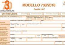 Il modello 730 del 2018 per la dichiarazione dei redditi del 2017