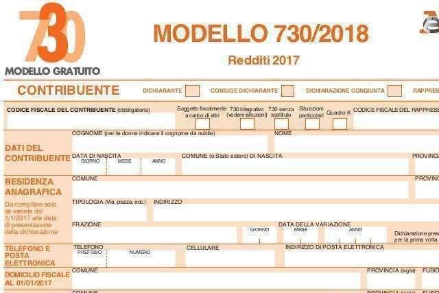 Modello 730 2018 dichiarazione redditi - Immo+