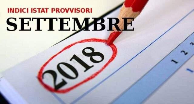 Indici istat provvisori dei prezzi al consumo di settembre for Calcolo istat