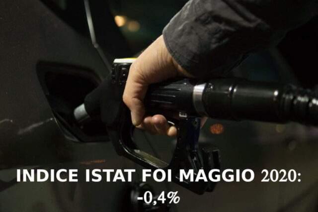 Indice ISTAT maggio 2020